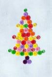 Árbol de navidad quilling Imágenes de archivo libres de regalías