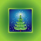 Árbol de navidad, vector   Fotografía de archivo libre de regalías