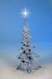 Árbol de navidad y estrella Fotos de archivo