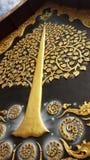 Árbol de oro Imágenes de archivo libres de regalías