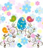 Árbol de Pascua stock de ilustración