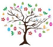 Árbol de Pascua ilustración del vector