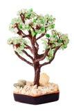 Árbol de piedras de la joyería Imagen de archivo