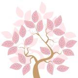 Árbol de Rose stock de ilustración