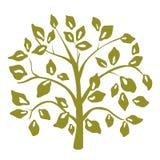 Árbol decorativo stock de ilustración
