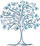 Árbol decorativo Foto de archivo libre de regalías