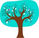 Árbol decorativo Imágenes de archivo libres de regalías