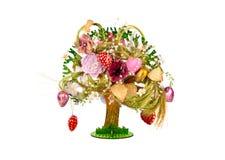 Árbol decorativo del juguete Foto de archivo libre de regalías