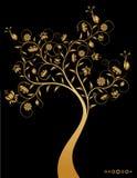 Árbol decorativo fantástico. Imagen de archivo