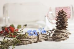 Árbol del Año Nuevo Foto de archivo libre de regalías