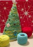 Árbol del Año Nuevo Fotografía de archivo libre de regalías