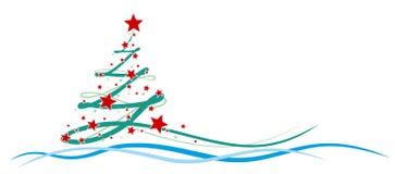 Árbol del Año Nuevo Imágenes de archivo libres de regalías