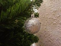 Árbol del Año Nuevo de la Navidad Fotos de archivo libres de regalías