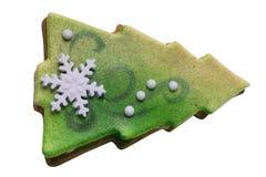 Árbol del Año Nuevo del mazapán imagen de archivo libre de regalías