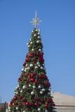 Árbol del Año Nuevo el día soleado Fotografía de archivo libre de regalías