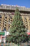 Árbol del Año Nuevo en Krasnodar Fotos de archivo