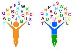 Árbol del alfabeto libre illustration