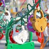 Árbol del amor Foto de archivo libre de regalías