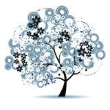 Árbol del arte hermoso para su diseño fotografía de archivo