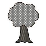 Árbol del arte pop stock de ilustración