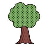 Árbol del arte pop ilustración del vector