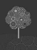 Árbol del círculo Fotografía de archivo