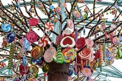 Árbol del caramelo Fotografía de archivo libre de regalías
