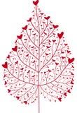 Árbol del corazón Fotografía de archivo