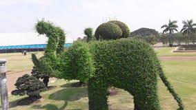 Árbol del corte en estilo del elefante Fotos de archivo libres de regalías