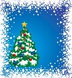 Árbol del día de fiesta Imagen de archivo libre de regalías