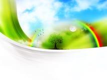 Árbol del desierto ilustración del vector