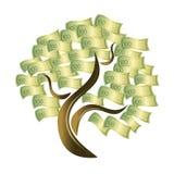 Árbol del dinero. Fotos de archivo libres de regalías