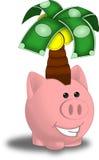 Árbol del dinero Imagen de archivo libre de regalías