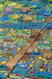 Árbol del mosaico Imágenes de archivo libres de regalías