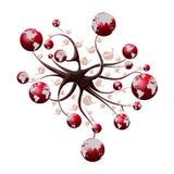 Árbol del mundo Imagen de archivo libre de regalías