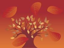 Árbol del otoño Ilustración del Vector