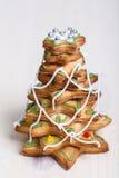 Árbol del pan de jengibre Foto de archivo libre de regalías