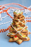 Árbol del pan de jengibre Fotos de archivo libres de regalías