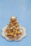Árbol del pan de jengibre Imagen de archivo libre de regalías