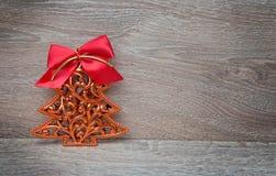 Árbol del pino del Año Nuevo Imagen de archivo
