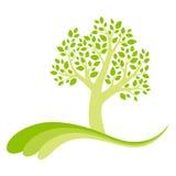 Árbol del vector Foto de archivo libre de regalías