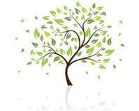 Árbol del vector stock de ilustración