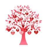 Árbol delicado del corazón Fotografía de archivo libre de regalías