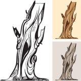 Árbol descubierto viejo libre illustration