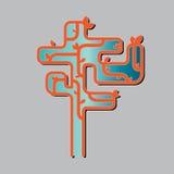 Árbol design2 Imagen de archivo