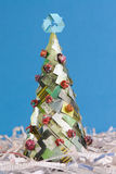 Árbol ecológico de Navidad Imagenes de archivo