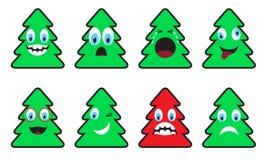Árbol-emociones de la Navidad libre illustration