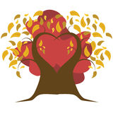 Árbol en la caída libre illustration