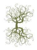 Árbol enredado Ilustración del Vector
