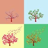 Árbol estacional Imagen de archivo libre de regalías